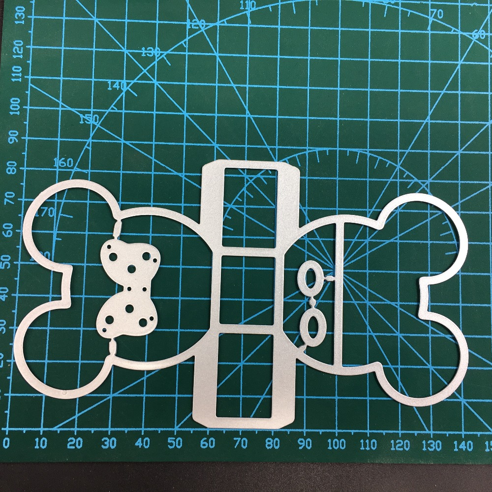 Mickey Minnie basket Metal Cutting Dies Christmas Stencils For DIY Scrapbook Paper Card Decorative Craft Embossing Die Cuts in Cutting Dies from Home Garden