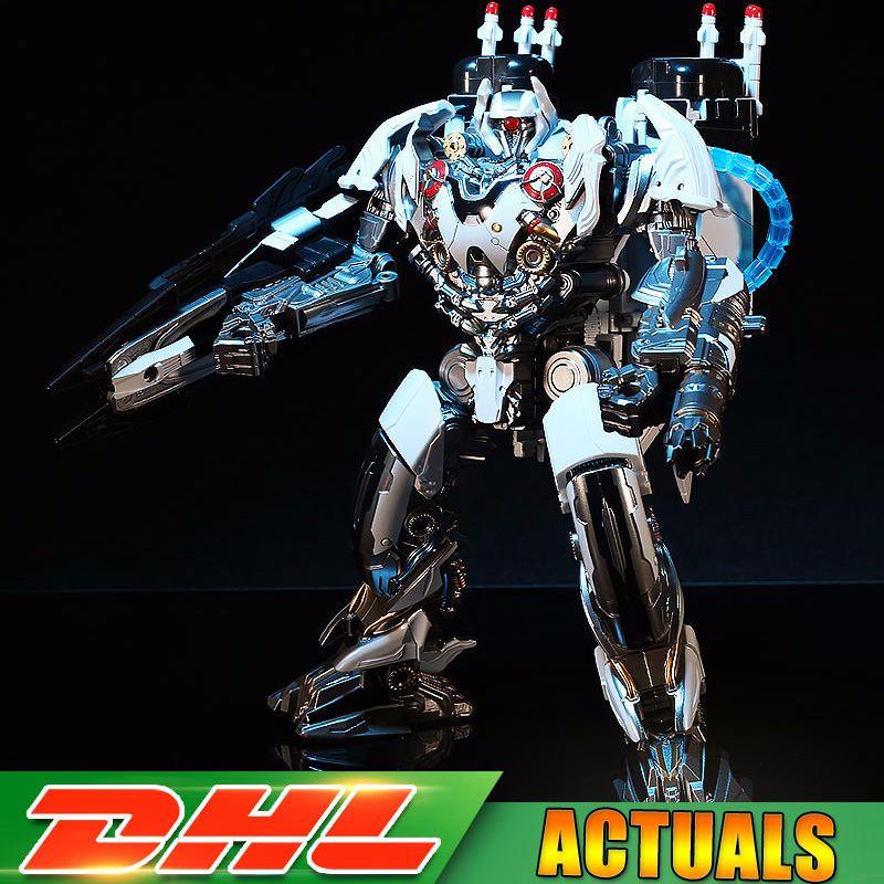 DHL Transformation IT-02 IT02 Nitroes Zeus Plane Mode TF Movie Film KO Oversize Alloy Action Figure Robot Collection Toys transformation kbb tf camouflage hound movie 4 alloy metal oversize edition action figure deformation boy collect robot toys