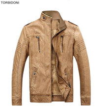 Winter Leather Jacket Men Faux Fur Warm Jackets and Coats Thickening Trench Coat Jaqueta de Couro Motorcycle Outdoor Jacket 3XL
