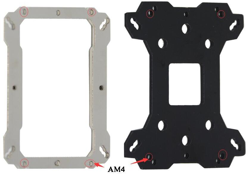 ARSYLID ThermalRight for AMD Ryzen AM4 mount mounting upgrade Installation package