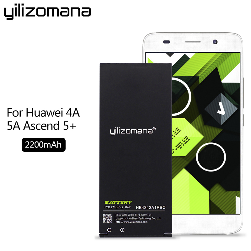 YILIZOMANA Phone Battery HB4342A1RBC For Huawei Y5II Y5 II Ascend 5+ Y6 Honor 4A SCL TL00 Honor 5A LYO L21 High Quality 2200mah