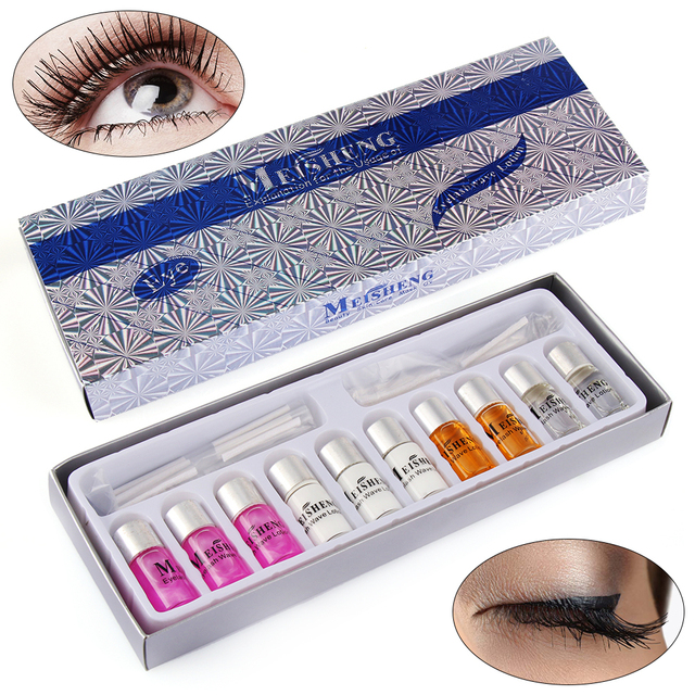 1set Professional Eyelash Perming Kit Lashes Cilia Extension With