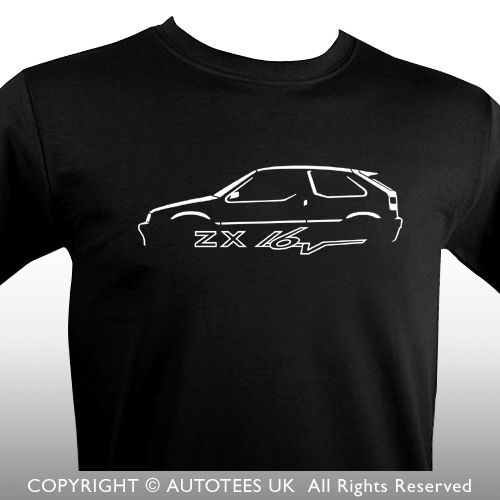 a4180f2e6 2018 Hot Sale 100% cotton France ZX 16 VALVE INSPIRED CAR T-SHIRT Tee shirt