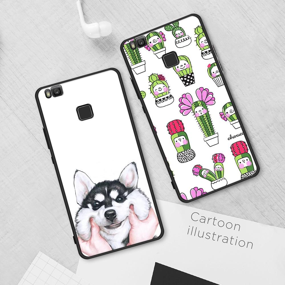 Motjerna Soft TPU Phone Case For Huawei Y9 2018 Enjoy 8 Plus P20 P20 Lite P8 P9 Lite 2016 Back Cover For Honor 8 9 Mate 10 Pro