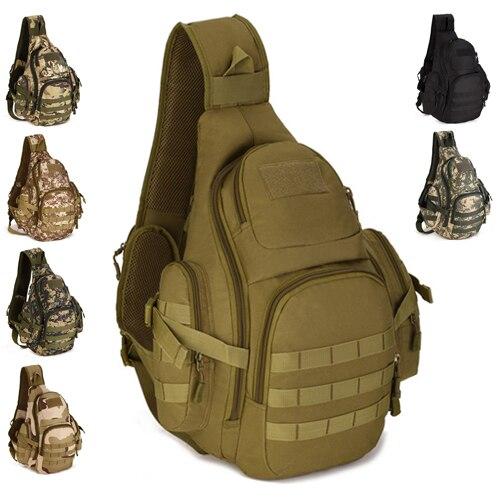 Armée fan activités tactiques hommes et femmes en plein air voyage randonnée étanche épaule Messenger sac 14 pouces ordinateur sac à dos