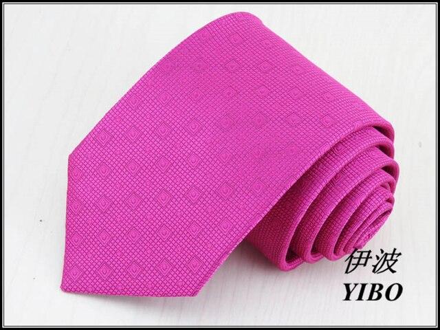 Mei vermelho dos homens gravata/8 cm de largura/pequena grade e grande xadrez desgin/masculino Alta-qualidade de seda real roupa formal gravata, frete grátis