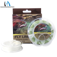 Maximumcatch Fly Line Combo WF 2/3/4/5/6/7/8F Fly Fishing Floating Line & Backing & Leader line