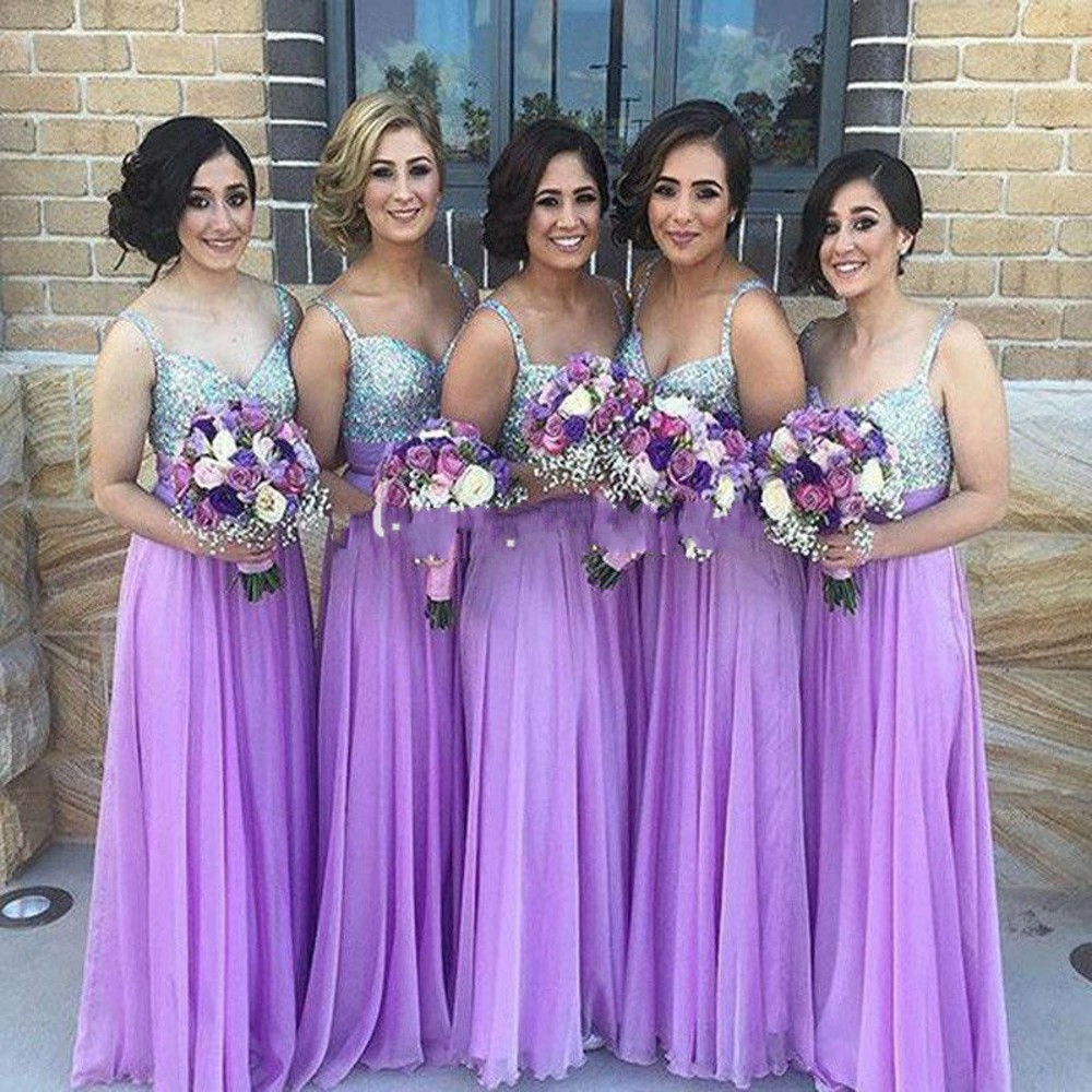 H007 2 Styles Burgundy Applique African Bridesmaid Dresses Long 2016 ...