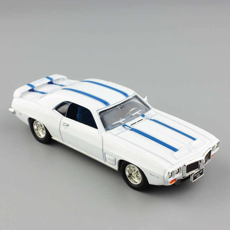 1:43 Scale Road signature classic Pontiac 1969 Firebird trans AM vintage cars muscle vehicles metal diecast model toys children image