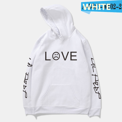 Lil Peep Love Hoodies Men Women Asual Hip Hop Crewneck Rapper Sweatshirt Cry Baby Kawaii Hoodie RIP Lil Peep Hell Boy Hoody