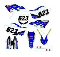 Graphic Decals Kit For Yamaha YZF250 YZ250F YZF 250 YZ 250F 2010 2011 2012 2013 Complete Team Background Stickers