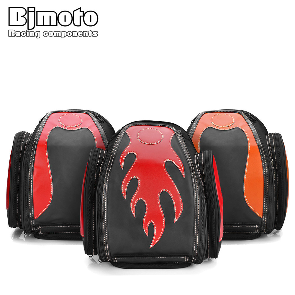 BJMOTO New Multi-function Motorcycle Bag Saddle Bags Breathable Moto Racing Backpack Luggage Knight Helmet Travel Tail Bag bjmoto universal motorcycle luggage bag saddle bags motorbike racing backpack helmet tank bag travel tail bag black with red