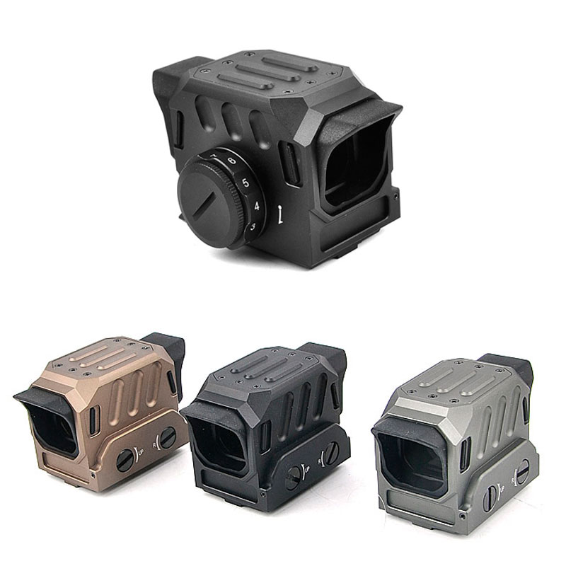New Optical 1.5MOA Red Dot Sight Reflex Sight Holographic Sight for 20mm Rail Hunting Rifle Scope 556 a sight style holographic red