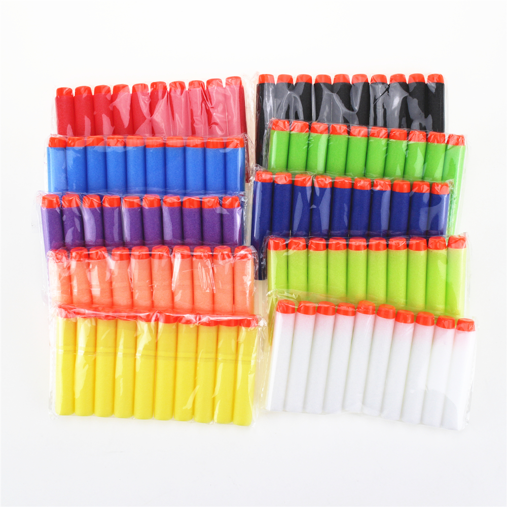 100-pcsset-10-Colour-Dart-Refills-Universal-Standard-hard-Head-Hollow-Foam-Bullets-for-Nerf-Toy-Gun-Fluorescence-5