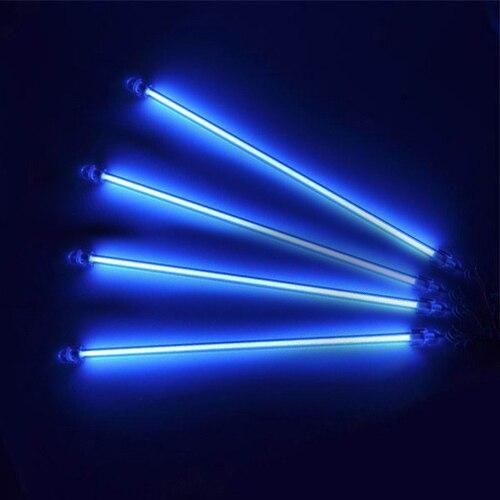 blauw 4 stuk onder car auto underbody lichten neon kit lights undercar lampen gratis verzending
