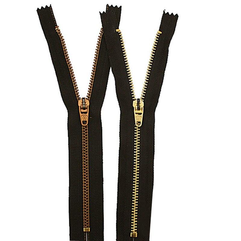 20cm  Pants zipper jeanscasual pants metal copper zipper pants placket zipper