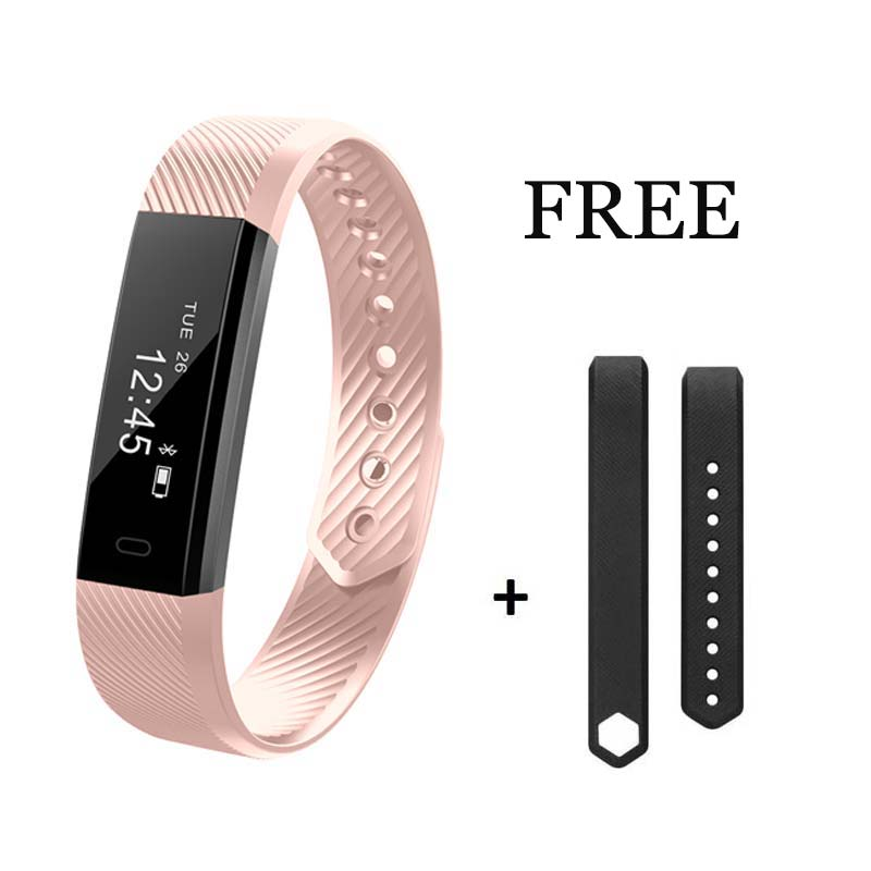 Fitness Tracker Watch Smart Band with Step Tracker Pedometer Bluetooth Bracelet Activity Tracker Sleep for iPhone