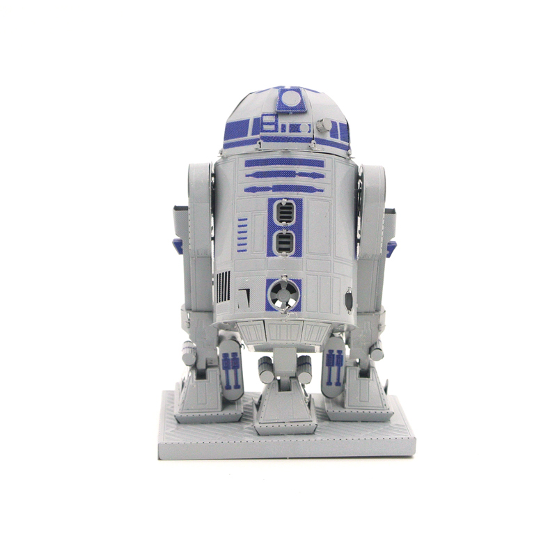 3D Metal Puzzles star war R2D2Toys 3D Metal Model NANO Puzzles New Styles Chinses Metal Earth DIY Creative Gifts
