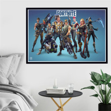 Fortnite Royale Battle Silk Poster
