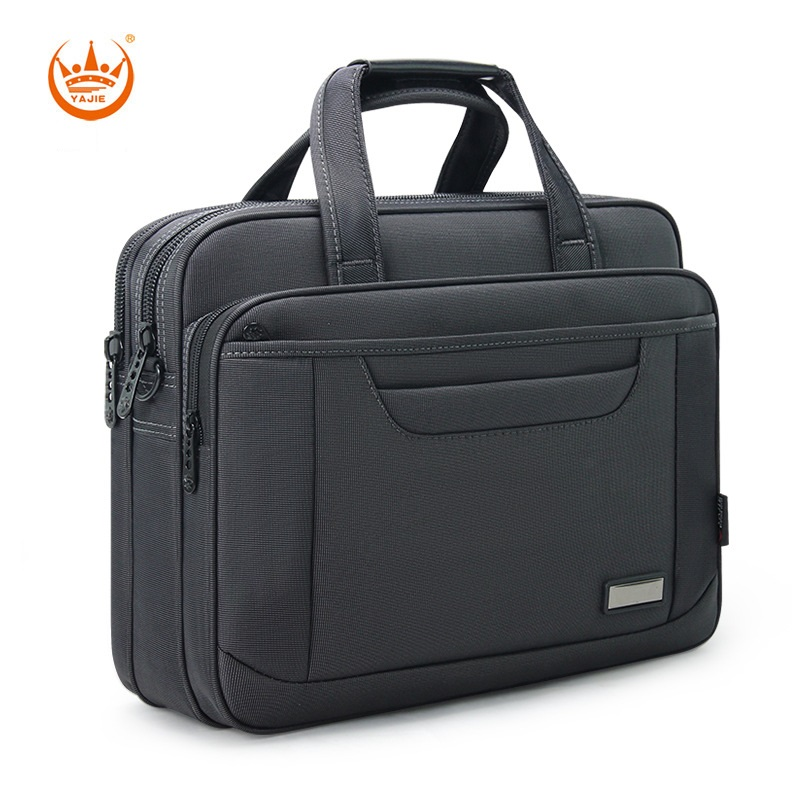 High Quality Business Men Briefcase Famous Brand Large Capacity Handbags 16 Inches Computer Bags Travel Oxford Shoulder Bag