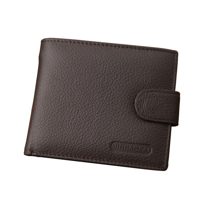Нове прибуття з натуральної шкіри гаманець чоловіків відома марка чоловічий гаманець з кишенькою для монет Carteira Masculina Couro  t