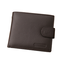 New arrival genuine leather coin wallet men famous brand mens with pocket carteira masculina couro