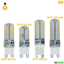 G4 G9 Lamp led Bulb cob led 12V AC220V SMD 3014 2835 3W 5W 10W 12W lampada led Lights replace Halogen Spotlight lamp Chandelier(China)