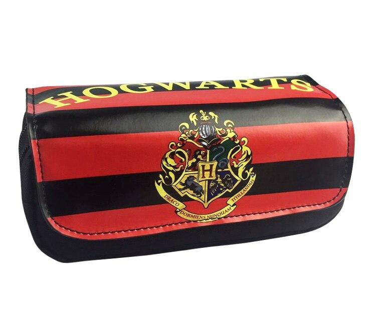 Hogwarts School best-selling pencil bag stationery bag. Makeup Bags