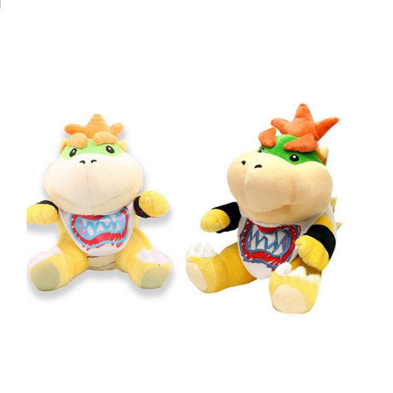 Super Mario Bowser Ausgestopft Puppen Plüsch Weich Teddy Spielzeug 25CM Geschenk