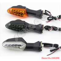 Motosiklet KAWASAKI Için Sinyal Gösterge Lambası Çevirin LED Z750 Z800 Z1000 Versys1000