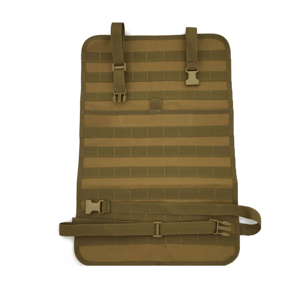 Nylon Tactical Car Seat Back Organizer Molle Vehicle Panel Seat Cover