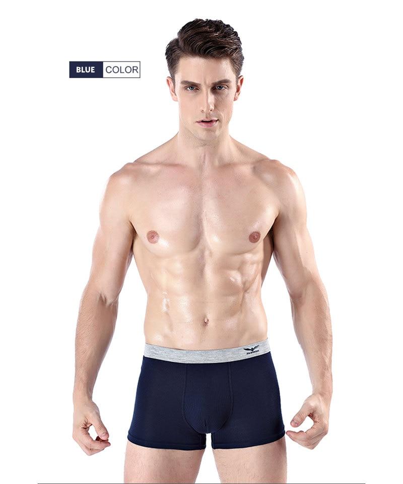 d7cf5e803ba8 ZHUDIMAN Underwear Striped Boxer Homme Sexy Modal Elastic Shorts Microfiber  Boxer Men Fashion Underwear Men Boxers Luxury Brand