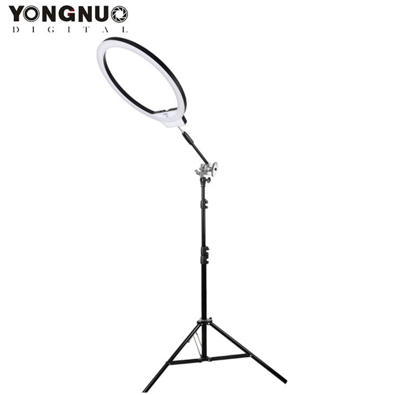 YONGNUO YN308 Wireless Remote LED Ring Light Video Light 5500K Color Temperature for Photography 55 degrees for DSLR Cameras