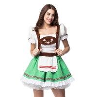 Maid Service Temptation Beer Girl Oktoberfest Costume German Wench Fancy Cosplay