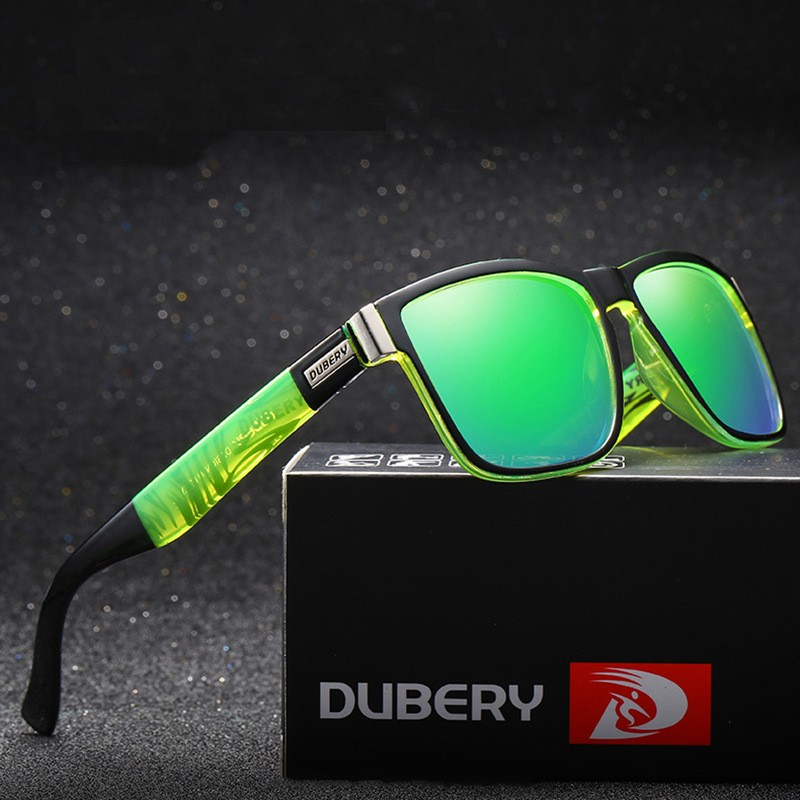 MYT_0139 Dubery Brand Design Men Sport Polarized Sunglasses Eyewear Spuare Mirror Oval Oculos UV400