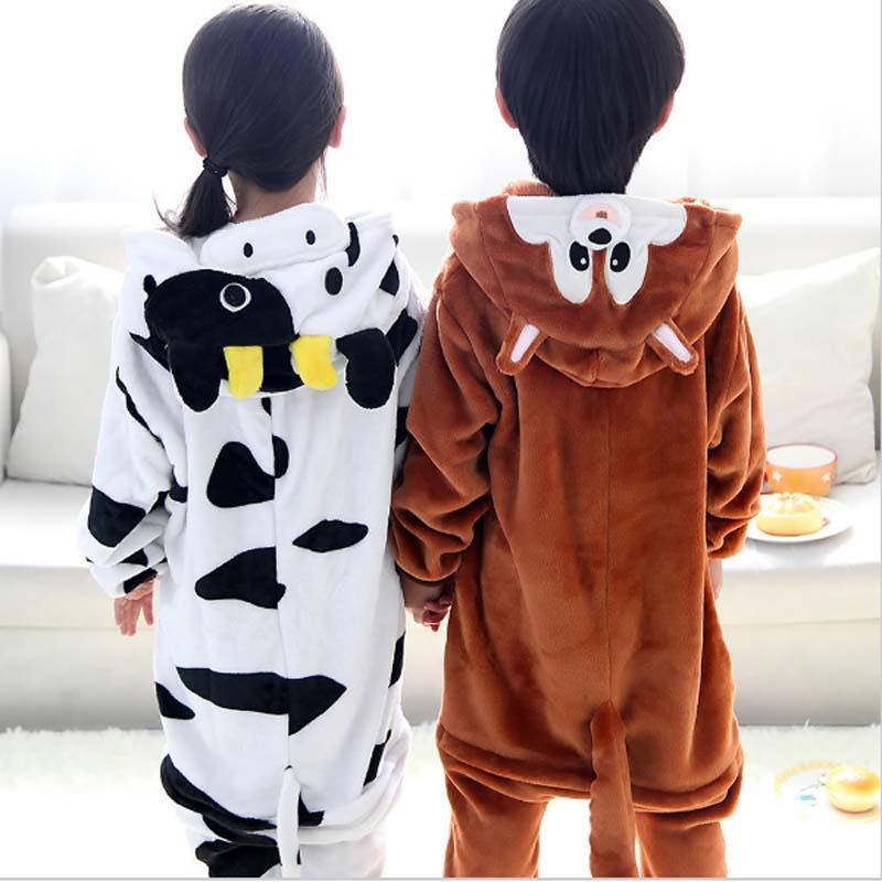 0415bb01b Aliexpress.com   Buy Winter Sleepwear kids Pajamas Onesies Cartoon ...