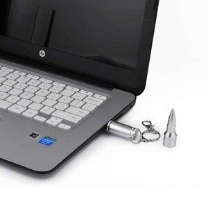 Image 5 - Metal 16GB 32GB Pendrive Creative Bullet USB Flash Drives 64gb Pen Drive Memory Stick For Laptop Desktop PC