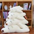 1pc 60cm big lovely white papa polar bear plush toy stuffed polar bear doll girlfirend and  kidz birthday gift