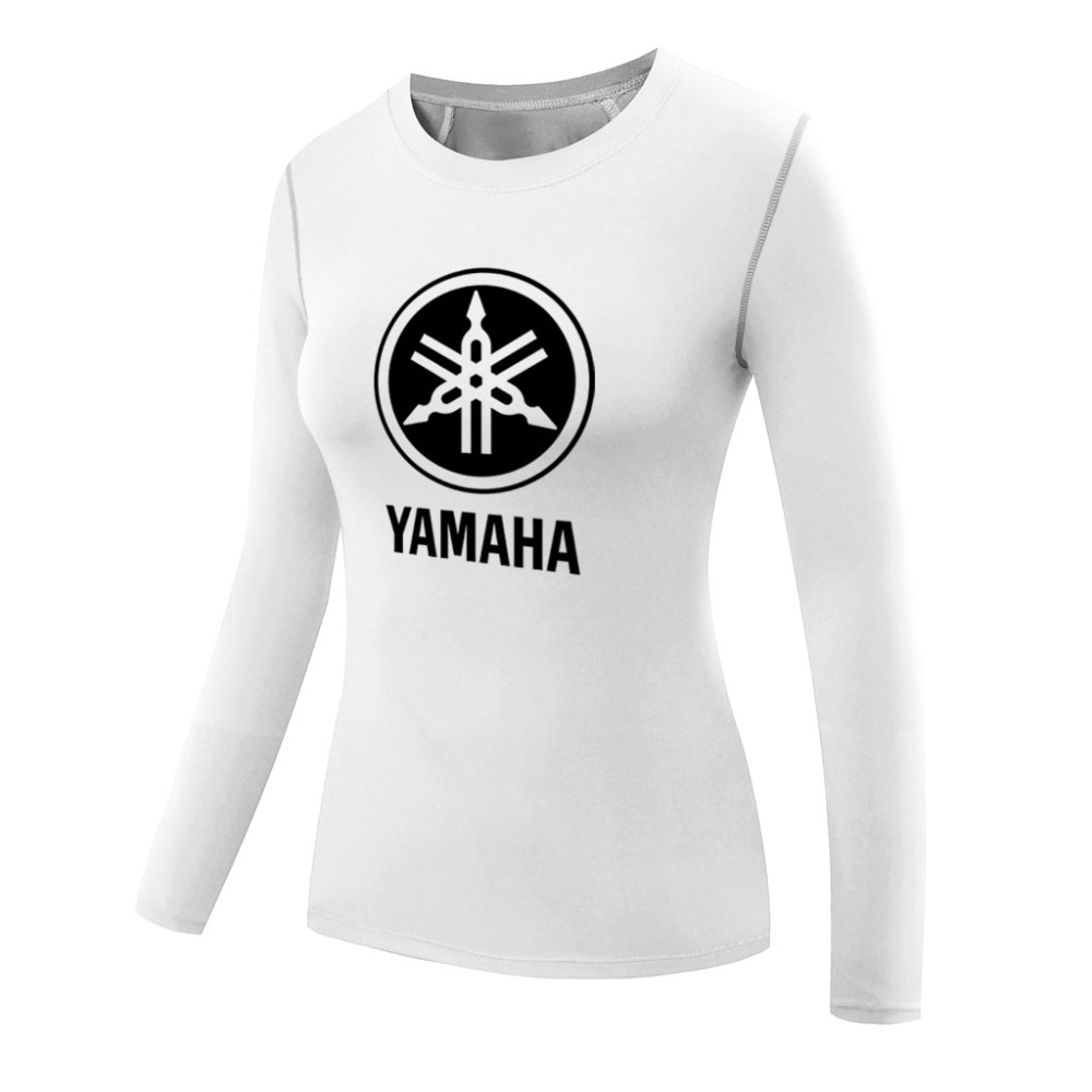 Black yamaha t shirt - Yamaha Shirts For Women Compression Shirt Short Sleeves T Shirt Girl Base Layer Quick Dry Tops