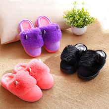 Boys And Girls Baby Shoes Children's Cotton Slippers Winter Warm Shoes Slip Cotton Trailer Home WMC2129xy