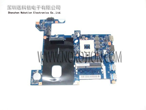NOKOTION Laptop Motherboard For lenovo G580 Intel HM77 DDR3 55.4SH01.001G LG4858 UMA Mainboard MB 48.4SG06.011 11S900003 nokotion laptop motherboard for lenovo g570 la 675ap mainboard intel hp65 ddr3 socket pga989