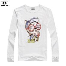 9e12d87d3a631 DMDM PORC 2018 Garçon Vêtements Coton T-shirt À Manches Longues Enfants T- shirts Bébé Fille Tops Printemps Automne Enfants Pour .