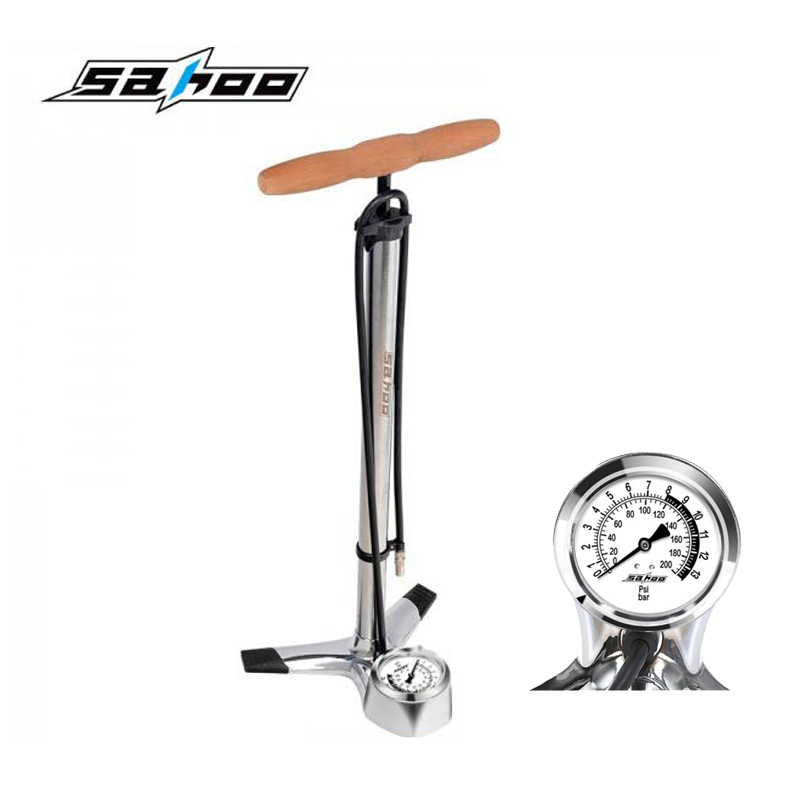 Bike Pump Bicycle Tire Portable Inflator Air Pump Mountain ...