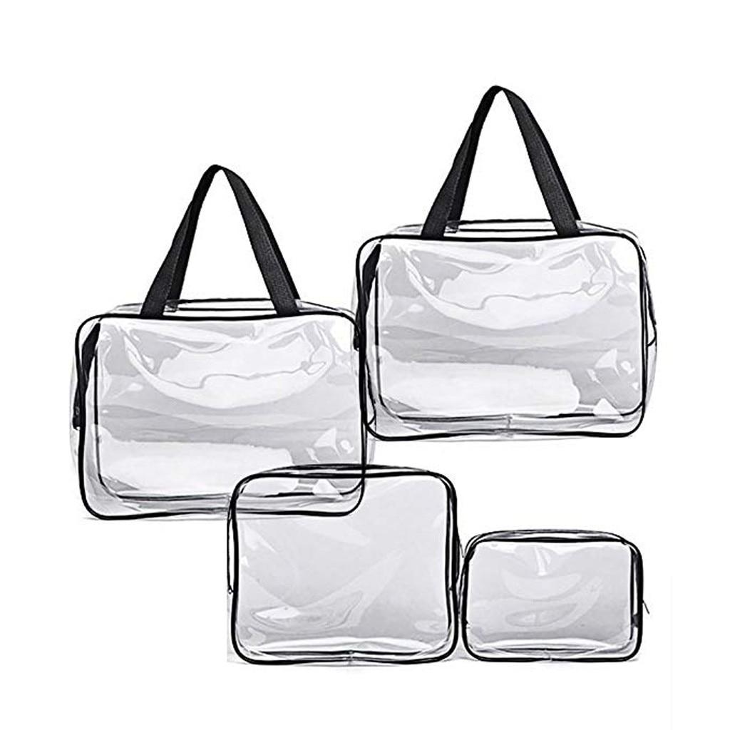 Women MenCosmetic Bags Portable Folding Travel Toiletry Make Up Bags Neceser De Maquillaje Trousse De Toilette Voyage Organizer
