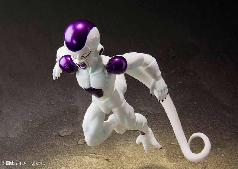 PrettyAngel-אמיתי Bandai Tamashii אומות S. h. figuarts דרגון סופר Frieza צורה סופית-Fukkatsu-פעולה איור