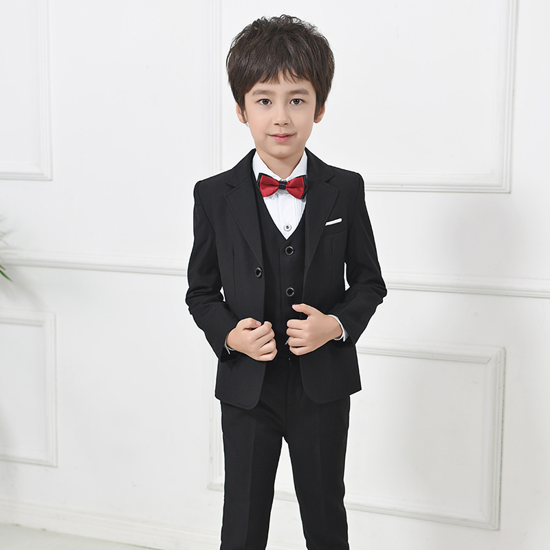 Children suit small boy flower girl dress suit boys suits for weddingskids birthday party formal suits three-piece Children suit small boy flower girl dress suit boys suits for weddingskids birthday party formal suits three-piece