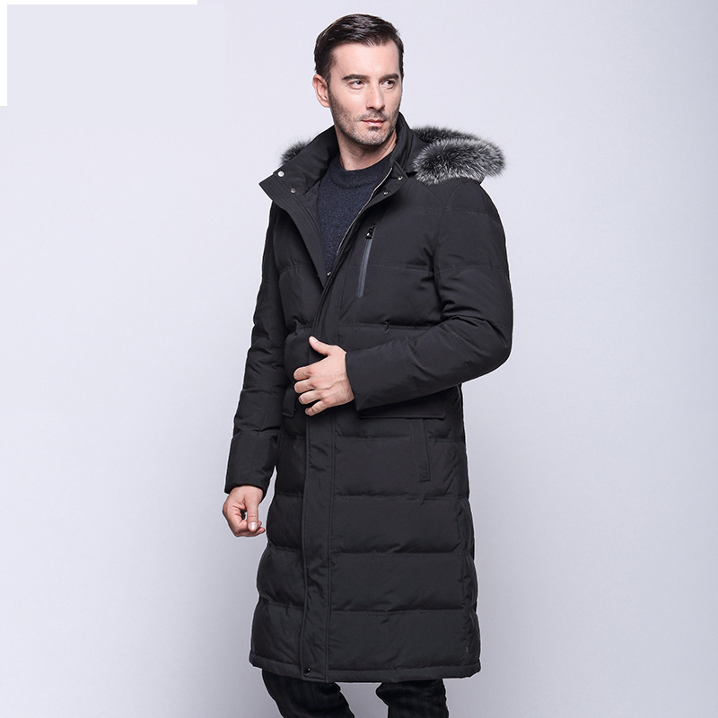 2017 New winter Jacket Men 90% White Duck Down Long Jackets Keep Warm Coat Casual Men's thick Down Overcoat Jackets parka homme high end business man white duck down jacket 2016 models 90% white duck down men outdoors with tops in thick warm coat long coat