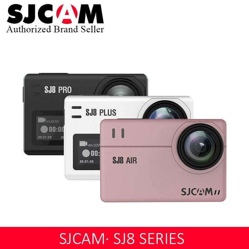 Sjcam Sj8 Pro/sj8 Plus/sj8 Air Action Kamera 1296 P 4 K 30fps/60fps Sport Dv Fernbedienung Helm Kamera full Set Box Lager HüBsch Und Bunt