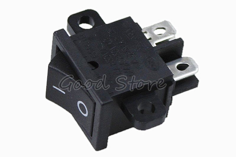 1PCS RS601D 6A 4A 8A 125V 250V AC Ship Type Power Switch KCD1-104 4 Pins ON/OFF With Fixed Hole