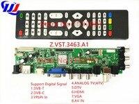 Z VST 3463 A1 Only Control Board Support Digital Signal DVB C DVB T T2 Better
